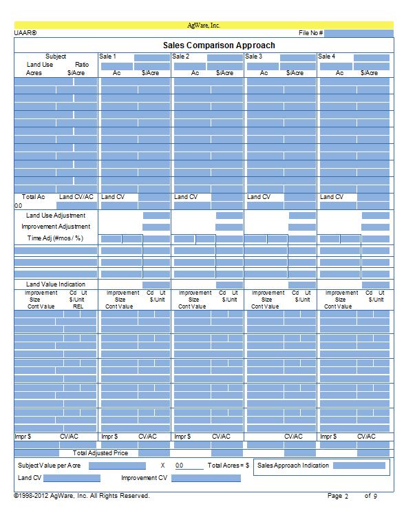 CF-Cond Summ SCA Page