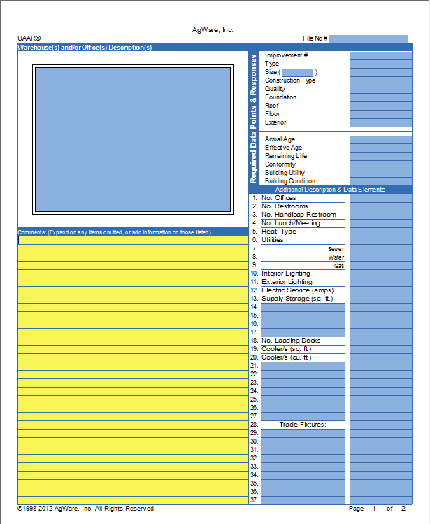 CF-Warehouse Template Page 1